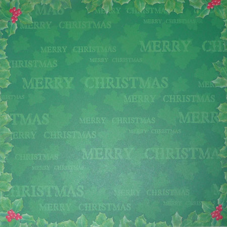 Papper -Studio Light - Mery Christmas Frame - 290