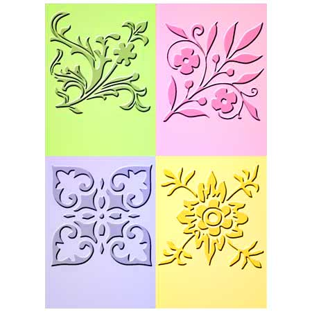 Embossing Dies - Fancy Corner - 37-1514