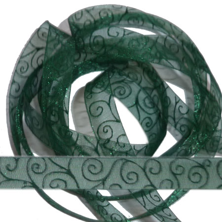 17. Band Swirl - Dark Green - 70322