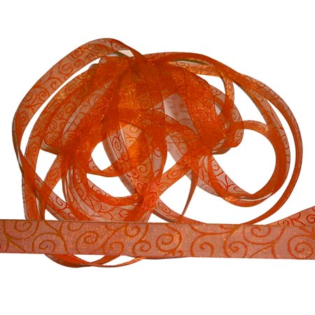 4. Band Swirl - Orange - 70301