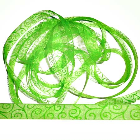 15. Band Swirl - Spring Green - 70303