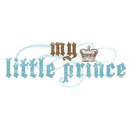 Rub Ons - Transfer Text - My Little Prince - BHT113