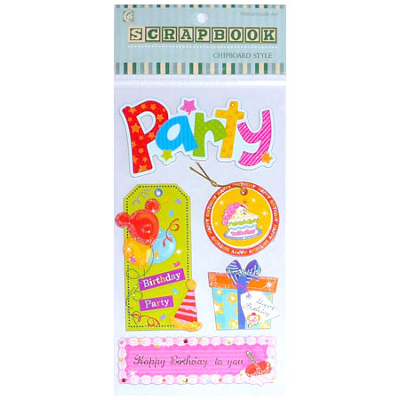 Chipboards - Party - CBA1312V