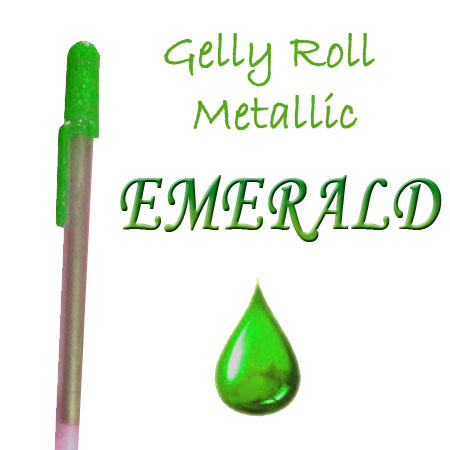 Gelly Roll Penna - Metallic - Emerald 526