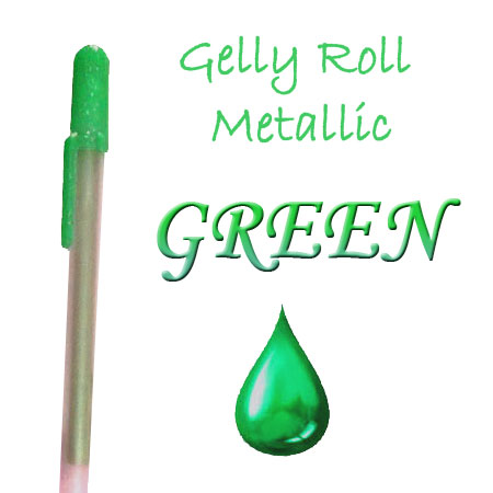 Gelly Roll Penna - Metallic - Green 529