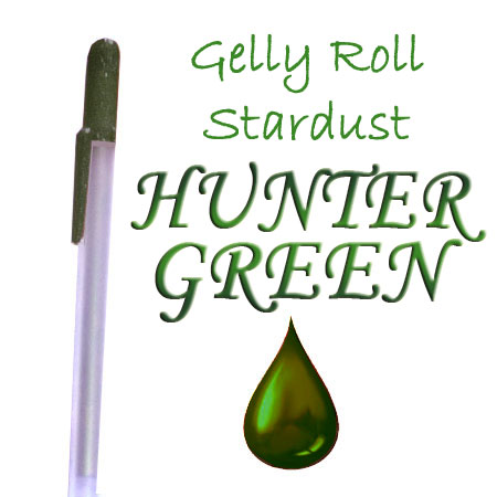 Gelly Roll Penna - Metallic - Hunter Green 530