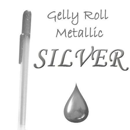 alt 4 Gelly Roll Penna - Metallic - Silver 553