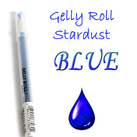 Gelly Roll Penna - Stardust - Blue 736