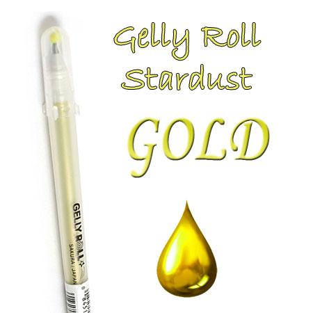Gelly Roll Penna - Stardust - Gold 703