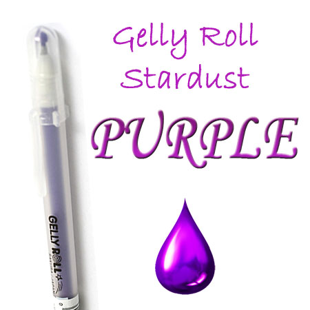 Gelly Roll Penna - Stardust - Purple 724