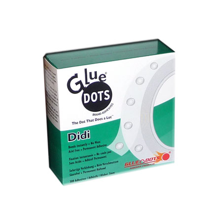 Glue Dots Didi - 300 glue dots - 3 mm - 1979