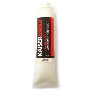 Akrylfärg - Antique White - 75 ml - KC002