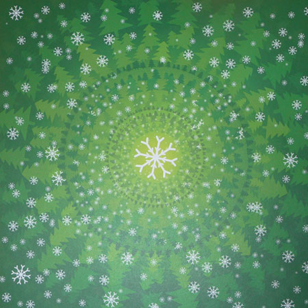 Papper - Studio Light - Snowflakes And Christmas Trees - SNCH