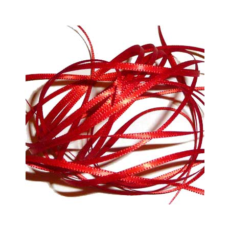 Band Satin 2mm - Red - 116-250